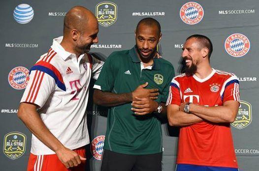 Henry Bayern Guardiola