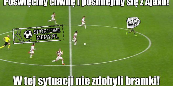 Legia przegrała z Ajaxem. Zobacz najlepsze pomeczowe memy!