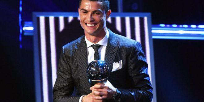 Cristiano Ronaldo najlepszy. Otrzymał nagrodę FIFA The Best!